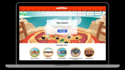Casino Calzonen etusivu