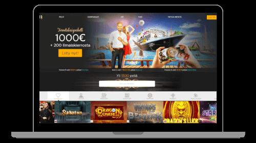 Casino Cruise, etusivu