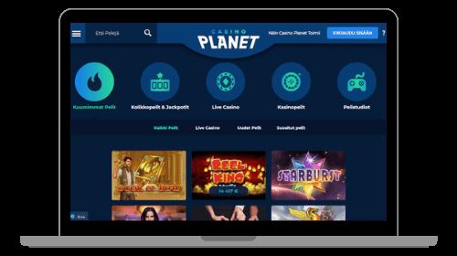 Casino Planet pelit – Tutustu ja löydä suosikkisi