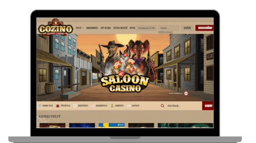 Cozino casinon etusivu