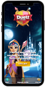 Duelz casino mobiililaitteella