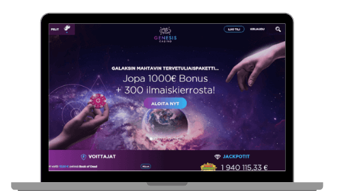 Genesis casinon etusivu