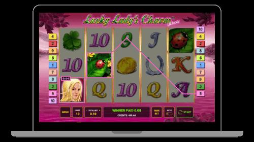 Lucky Lady's Charm kolikkopeli