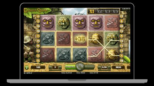 Kolikkopelin voitto, Gonzo's Quest