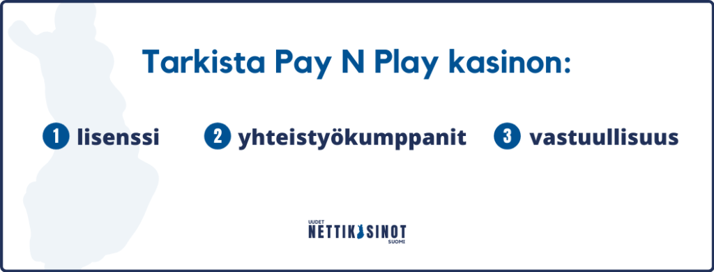 PaynPlay kasinot – Tarkista nämä asiat