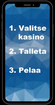 Valitse mobiilikasino