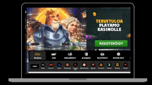 PlayAmo casino arvostelu – Tutustu kasinoon