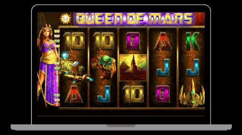 Queen of Mars kolikkopeli