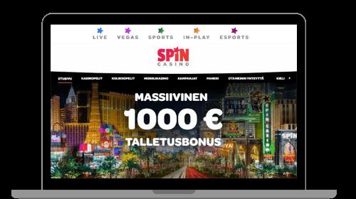 Etusivu Spin Casinolla