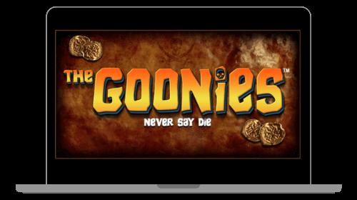 Etusivu kolikkopelissä The Goonies
