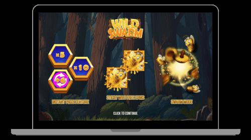 Wild Swarm kolikkopeli